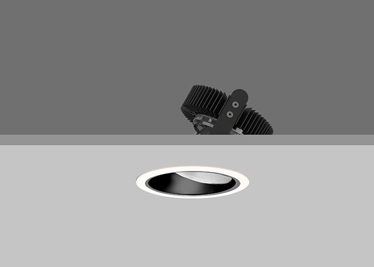 Ambiance X100  Lens Wallwasher - Black
